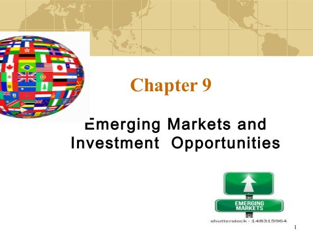1 Chapter 9 Emerging Markets and Investment Opportunities