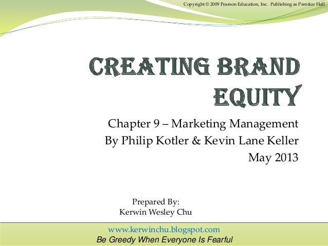 building brand equity thesis How to build brand equity all great products solve a customer problem if your product or service is reliable, loyal clients will.