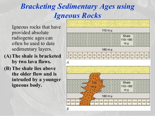 Why does radiometric dating work on sedimentary rocks