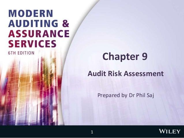 Chapter 9 Audit Risk Assessment Prepared by Dr Phil Saj 1
