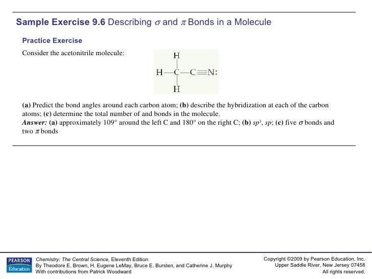 AP Chemistry Chapter 9 Sample Exercise