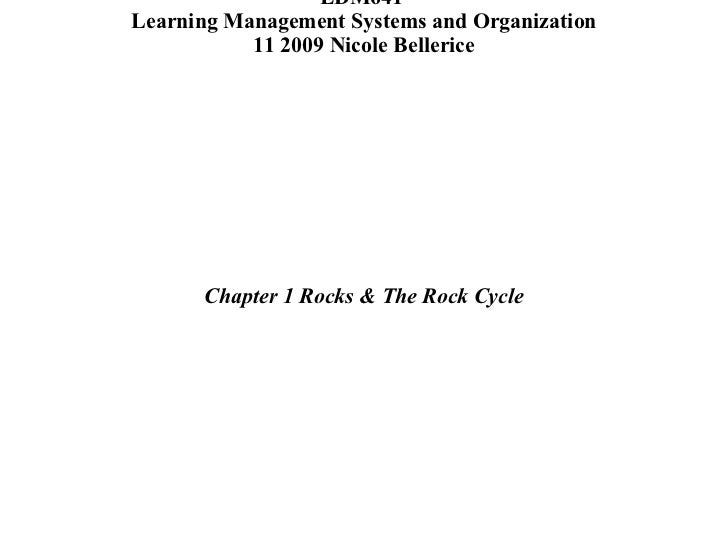 Full Sail University  EDM641  Learning Management Systems and Organization 11  2009  Nicole Bellerice <ul><li>Chapter 2  T...