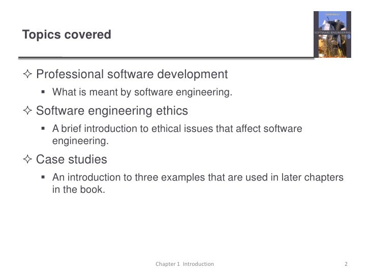 Case Study for Software Engineering