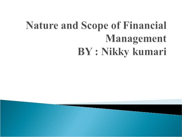    Finance is the set of activities dealing with the management of    funds   Finance is also the science and art of det...