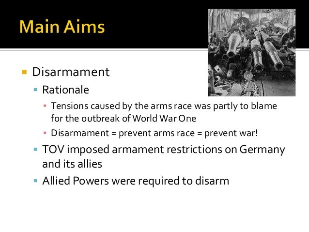 Image Gallery disarmament 1920s