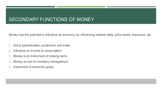 How Does Inflation Affect the Function of Money