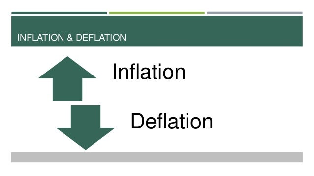 causes of inflation and deflation