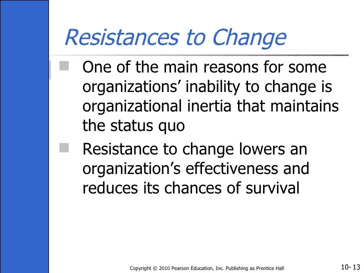 Resistance to Change in Organizations Essay Sample