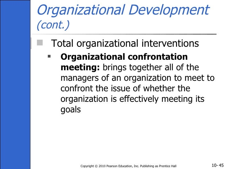 organization confrontation meeting Organization effectiveness1 briefly define organization confrontation meeting2 using this information describe 2 issues.