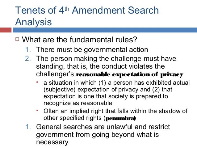 An analysis of the constitutional rights to privacy in the american society
