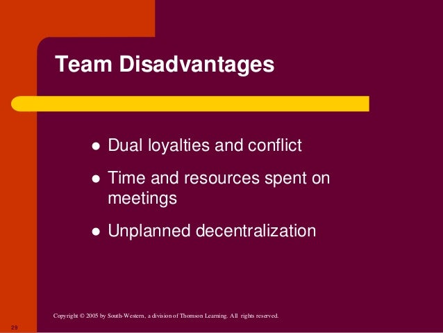 advantages and disadvantages of a hands off decentralized management approach Agricultural extension organizations, like most other disciplines and institutions, are not immune to various developments taking place around them.