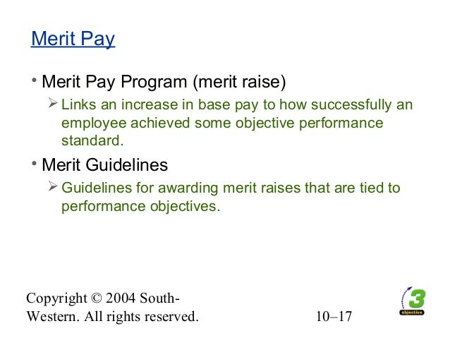 measuring merit pay for performance essay One working model for merit pay or performance-based pros and cons of merit pay for teachers: a point-counterpoint look at the educational research articles.