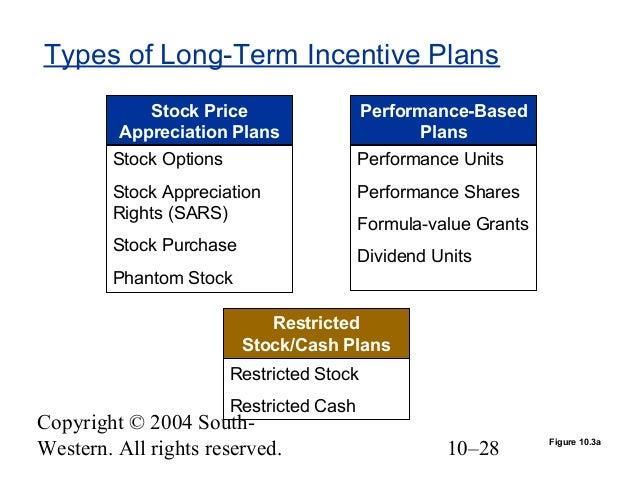 Long Term Incentive Plan Design Options