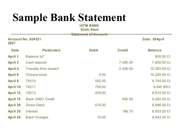 Ch 10 bank reconciliation – Bank Account Reconciliation Template