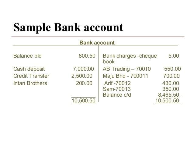 Ch  Bank Reconciliation