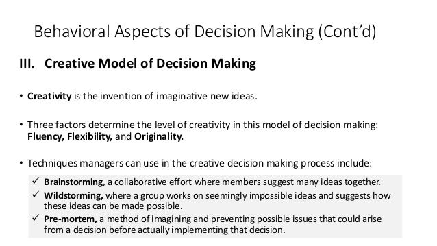 Decision Making Ppt Download For 11