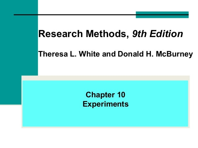 research methods white mcburney 9th edition pdf