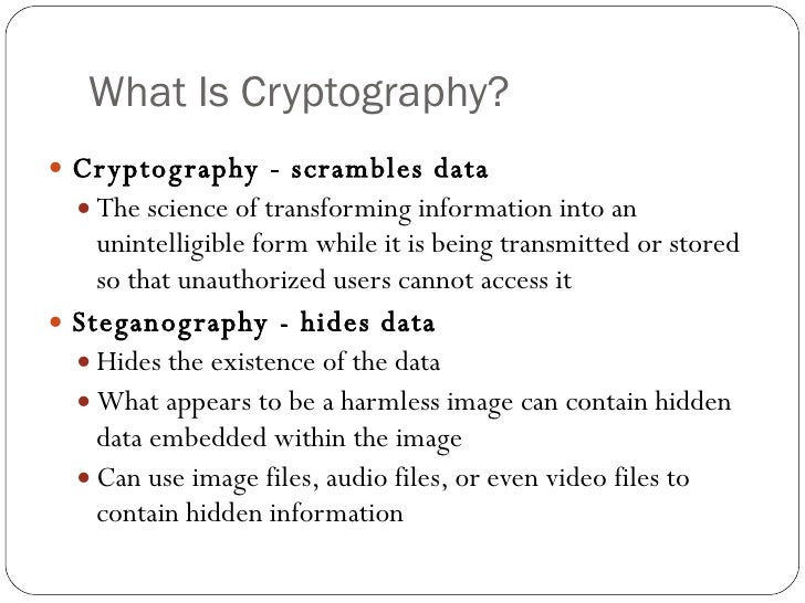 definition and use of symmetric data cryptography and asymmetric data cryptography Symmetric key encryption uses the same key to encrypt and decrypt the data  asymmetric encryption uses two keys: one to encrypt data, and one to  it used a  56-bit key, meaning there were 2^56 possible combinations.