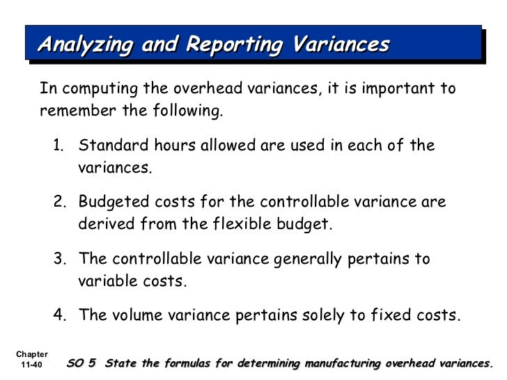 What Is a Fixed Cost Flexible Budget Variance?