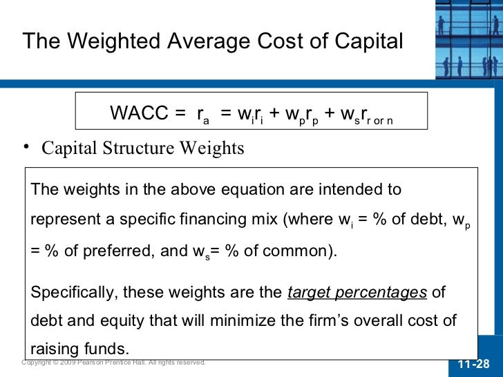 how capital structure affects uk cost of capital Does the source of capital affect capital structure the supply of capital is infin itely elastic at the correct price and the cost of capital depends only upon.