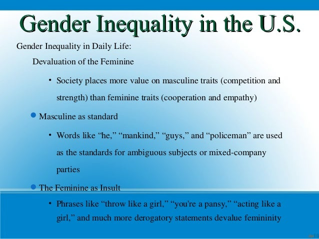 essay titles about gender inequality