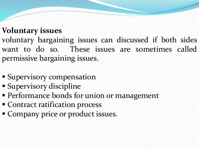 the issue of wages and benefits in collective bargaining agreement The benefits of collective bargaining are significant the union wage premium—the percentage-higher wage earned by those covered by a collective issues.