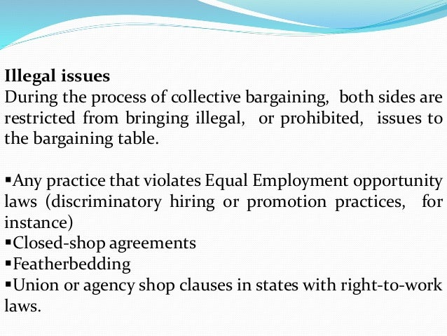 Negotiation And Collective Bargaining