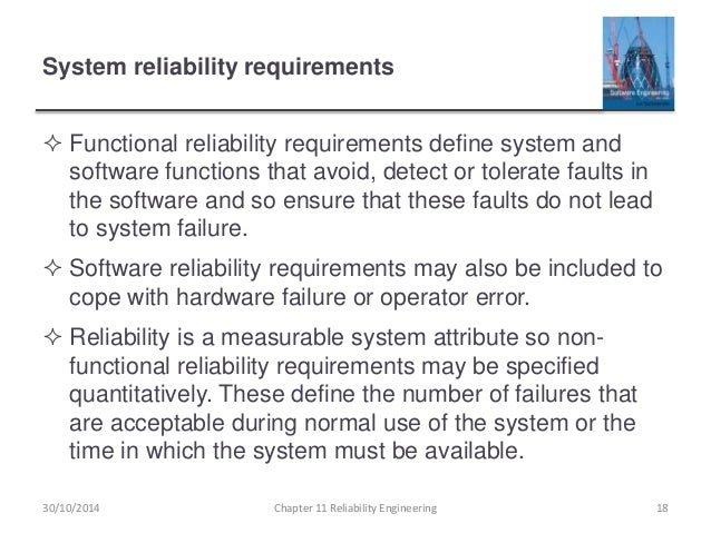 Ch11 reliability engineering