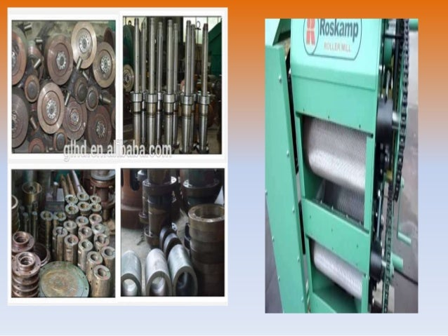 Triple Roller mill: Various types of roller mills consisting of one or more rollers are commonly used but triple roller mi...
