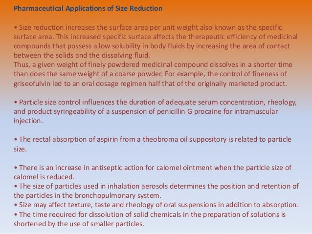size reduction,laws involved in size reduction ,application & mills Slide 3