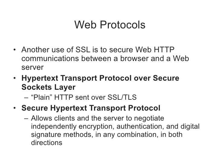 TLS Versions