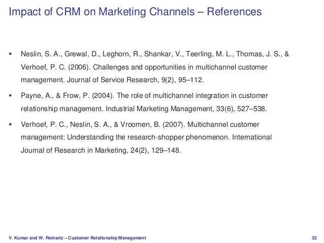 Customer Relationship Channels in Marketing Essay