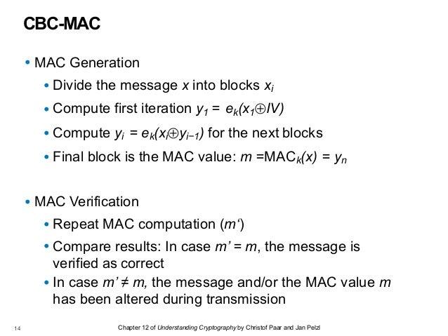 CNIT 141: 12  Message Authentication Codes (MACs)