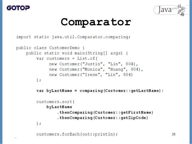 Comparator 35