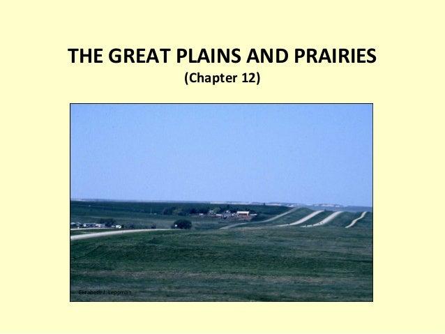 THE GREAT PLAINS AND PRAIRIES (Chapter 12) Elizabeth J. Leppman