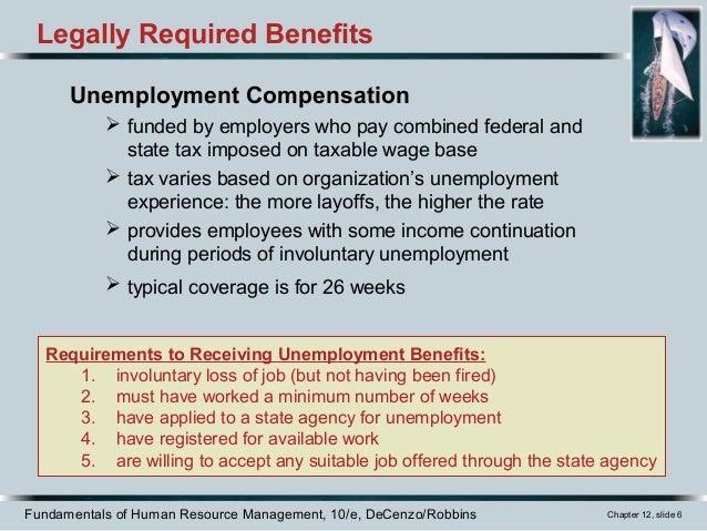 Ch12 employee benefits