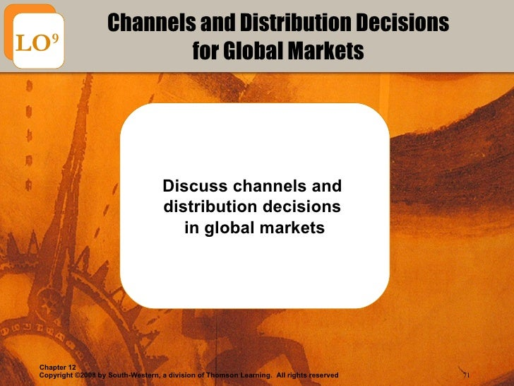 discuss how global disteibution channels differ from domestic channels Discuss how global disteibution channels differ from domestic channels session 7 distibution channels by the end of this unit, you should be able to.