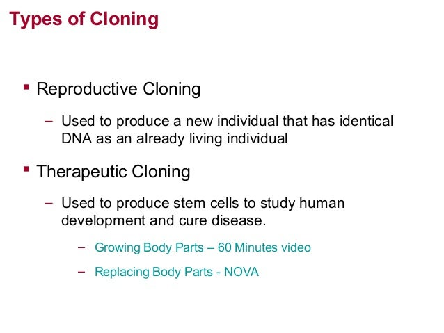 the idea of cloning animals and humans since the discovery of dna The idea of human cloning  including use of animal dna in humans  there have been consistent calls in canada to ban human reproductive cloning since the.