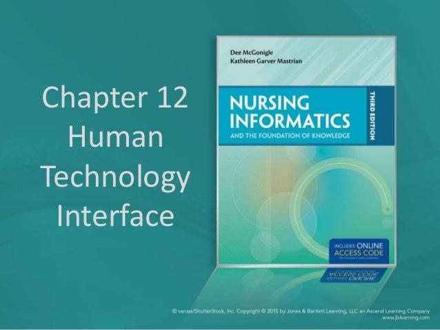 Chapter 12 Human Technology Interface