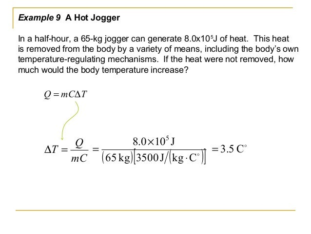 If there is no heat loss to the surroundings, the heat lost by the hotter object equals the heat gained by the cooler ones...