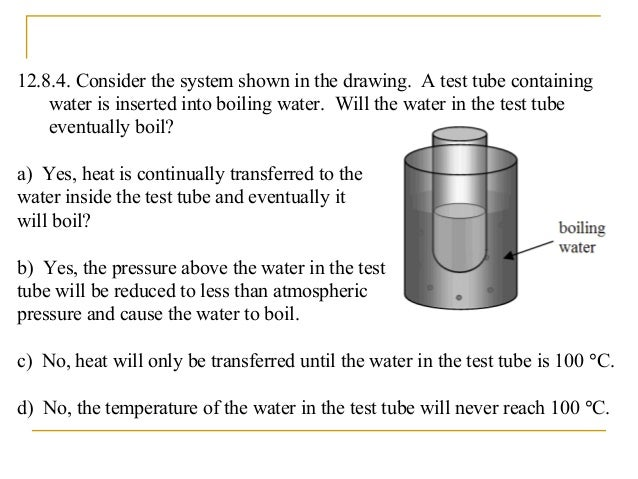 Only when the temperature and vapor pressure correspond to a point on the curved line do the liquid and vapor phases coexi...