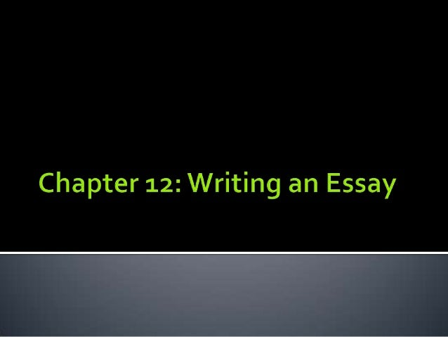  Essay – group of paragraphs on a single subject  Similar to paragraph structure  Topic sentence > Introduction &Thesis...