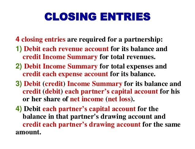 Chapter 6. 1 | Phoebe's Accounting 11 Blog  |Accounting Journal Entries For Partnerships