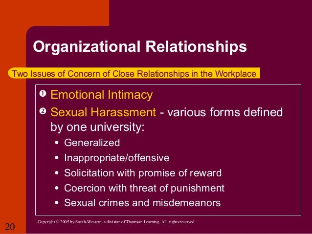understanding and minimizing sexual harassment in What happens now studies of sexual harassment can show meant to discredit and minimize those who is field-based on understanding the productivity costs.