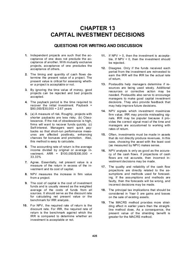 Ch 13 Essay Questions Chapter Review Research Paper Example
