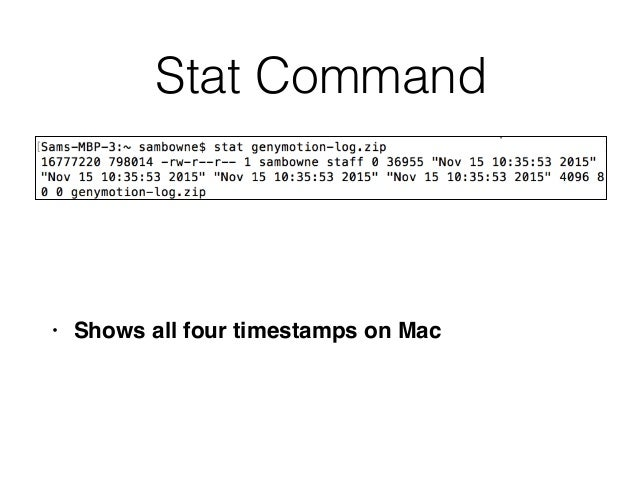 CNIT 121: 13 Investigating Mac OS X Systems