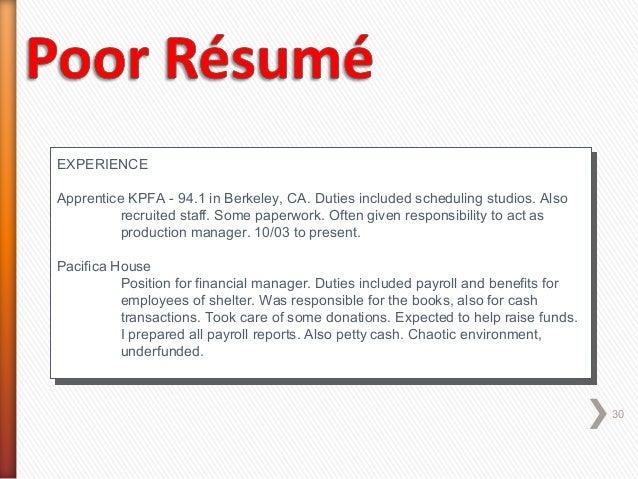 production line job description resume