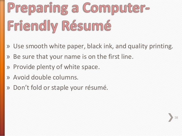 staple cover letter to resume