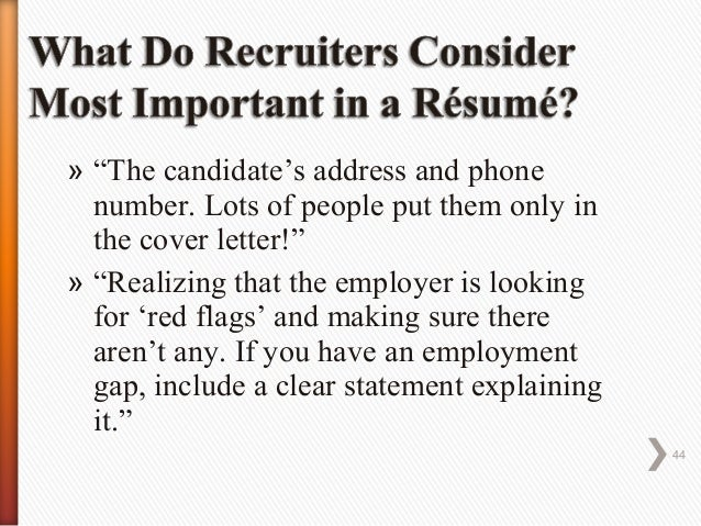 Persuasive Resume  Cover Letter