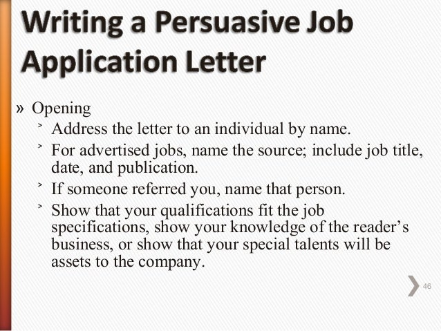 how to type cover letter for a job